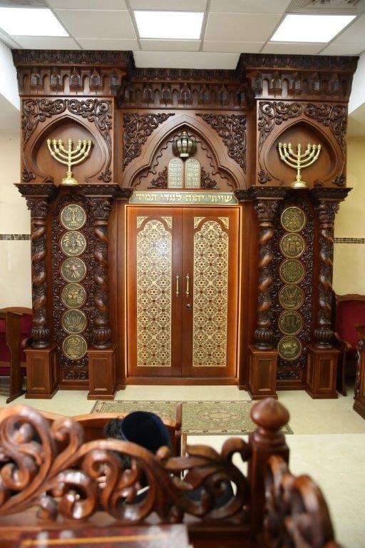 בית כנסת של הבאבא ברוך בנתיבות   רהיטי לביא