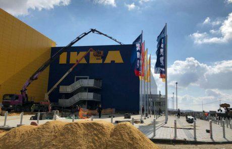 """<span class=""""entry-title-primary"""">הספירה לאחור לפתיחת איקאה באר שבע החלה. החנות עתידה להיפתח ב-26 בפברואר 2018</span> <span class=""""entry-subtitle"""">אותיות IKEA הוצבו על מבנה החנות</span>"""