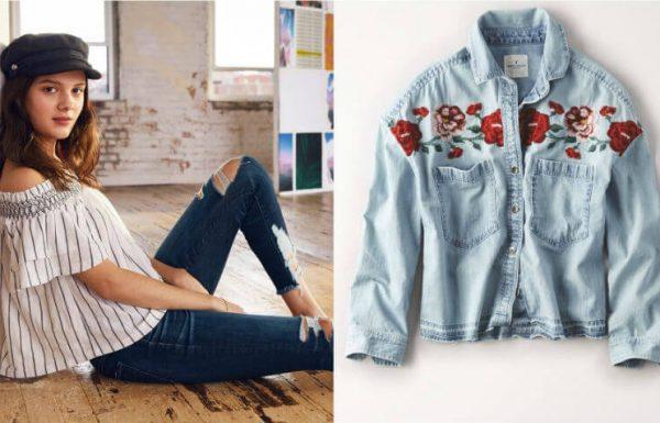 רשת האופנה האמריקאית AMERICAN EAGLE במבצע תחילת עונה