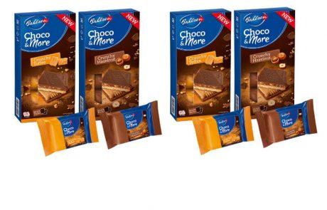"<span class=""entry-title-primary"">חדש מבאלזן: Choco & more –ביסקוויט מצופה שוקולד חלב עם שברי טופי קרמל או אגוזי לוז</span> <span class=""entry-subtitle"">בכל חפיסה בייבוא ושיווק חברת ליימן שליסל תמצאו 3 אריזות אישיות המכילות שתי עוגיות מפנקות</span>"