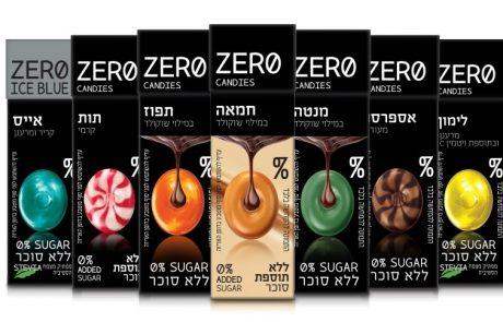 "<span class=""entry-title-primary"">סדרת סוכריות קשות ללא סוכר של המותג – ZERO CANDIES.</span> <span class=""entry-subtitle"">הסדרה כוללת שלושה טעמים חדשניים של תפוז, מנטה וחמאה.</span>"