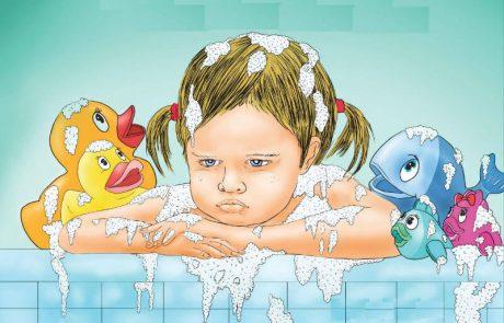 """<span class=""""entry-title-primary"""">ספר ילדים חדש לגילאי 2-5: """"בתיה לא אוהבת אמבטיה"""", מאת עדי ענתבי – בהוצאת """"אוריון""""</span> <span class=""""entry-subtitle"""">הספר מתאר את ההתמודדות של בתיה והוריה עם סירובה להיכנס לאמבטיה ומספקת לילדים ולהורים דרכים להתמודדות בקושי מסוג זה בדרך מעניינת וקסומה</span>"""