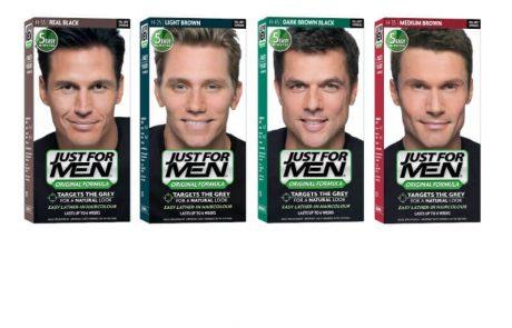 "<span class=""entry-title-primary"">סדרת צבעי שיער לגברים של המותג הבינלאומי JUST FOR MEN – לשימוש ביתי תוך 10 דקות</span> <span class=""entry-subtitle"">מוצרי הסדרה מתמקדים בשיער אפור, אינם משנים את גוון השיער הטבעי, אינם מכילים אמוניה ואינם מזיקים לשיער</span>"