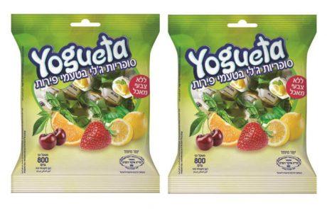 """<span class=""""entry-title-primary"""">חדש מיוגטה (yogueta) מבית ליימן שליסל: סוכריות ג'לי בטעמי פירות וללא צבעי מאכל</span> <span class=""""entry-subtitle"""">מגיעות באריזה משפחתית המכילה 800 גרם של סוכריות נהדרות במגוון טעמי פירות, בהם: לימון, תות, תפוז ודובדבן</span>"""
