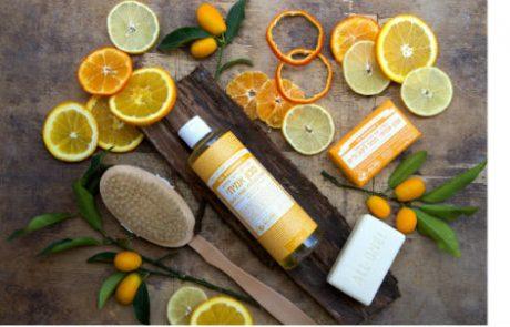 "<span class=""entry-title-primary"">חברת דר' ברונר'ס מציגה סבון אורגני עם שמנים אתריים של תפוז, לימון וליים.</span> <span class=""entry-subtitle"">הסבון הוא סבון אמיתי ולא אל-סבון, מיוצר על פי ידע משפחתי של 150 שנה בשיטת ייצור סבון מסורתית.</span>"