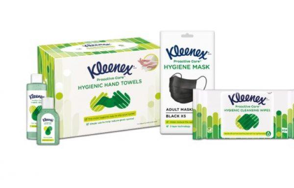 קלינקס משיק סדרת מוצרי היגיינה חדשה – Proactive Care.