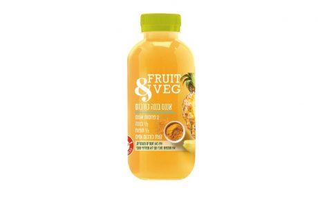 "<span class=""entry-title-primary"">טעם חדש בסדרת משקאות FRUIT&VEG –אננס בננה כורכום.</span> <span class=""entry-subtitle"">Fruit&Veg הינה סדרת משקאות פרי וירק ללא תוספת סוכר,ללא חומרים משמרים וללא צבעי מאכל. </span>"