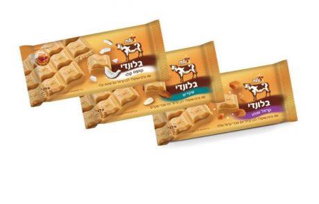 "<span class=""entry-title-primary"">אחרי החלב, המריר והלבן, טעם חדש לשוקולד עלית: ""בלונדי"" –שוקולד מקורמל בגוון זהוב</span> <span class=""entry-subtitle"">מציע מנעד טעמים: שקדים, קרמל ומלח ושבבי קוקוס קלוי וכמות סוכר מופחתת משמעותית לעומת שוקולדים אחרים</span>"