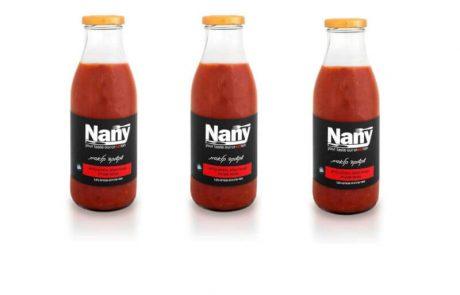 """<span class=""""entry-title-primary"""">חברת Nany משיקה: שקשוקה קלאסית עם רוטב עגבניות בשלות, פלפלים קלויים ונגיעות שמן זית</span> <span class=""""entry-subtitle"""">ללא צבעי מאכל, ללא חומרים משמרים וללא חומרי טעם מלאכותיים, מתאים גם לפסטות ולתבשילי עגבניות</span>"""
