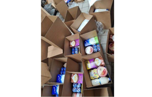 """מחווהשל חברת """"שטראוס"""" בשיתוף עמותת """"עזרה למרפא"""" למשפחות הנספים במירון ."""